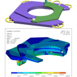 Full design, analysis & documentation package for an offshore drilling rig conductor housing hangoff system
