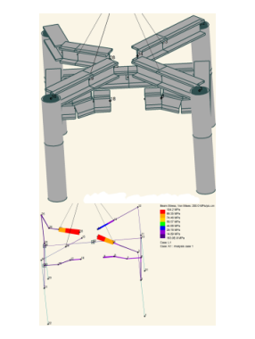 Design analysis package for lifting modes of a Subsea XT frame