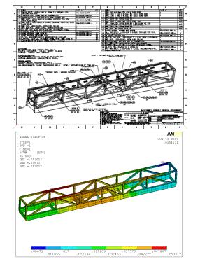 Subsea tubing hanger shipping frame - full package