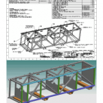 Subsea tool shipping frame - full package
